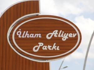 İlham Aliyev Parkı Törenle Açıldı